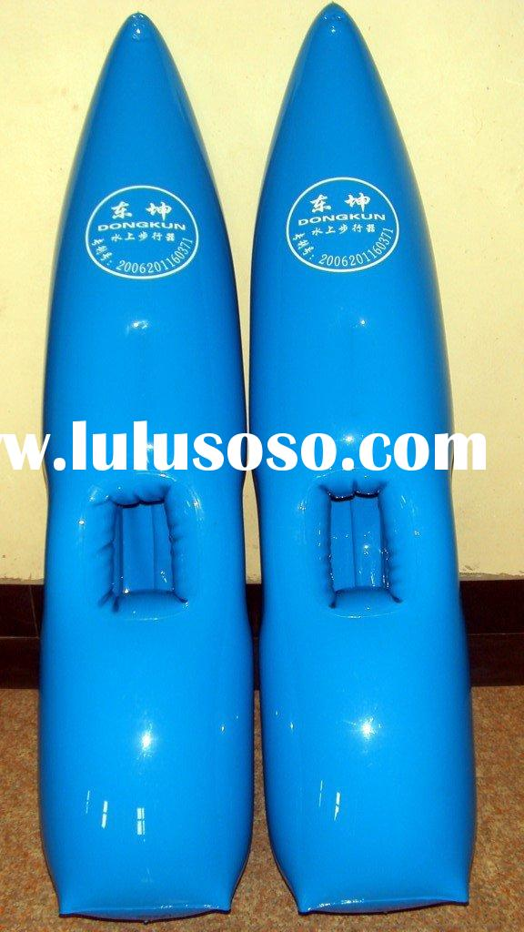 inflatable water walking shoes