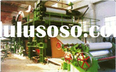 toilet paper Making Machine paper making machine waste paper recycle machine
