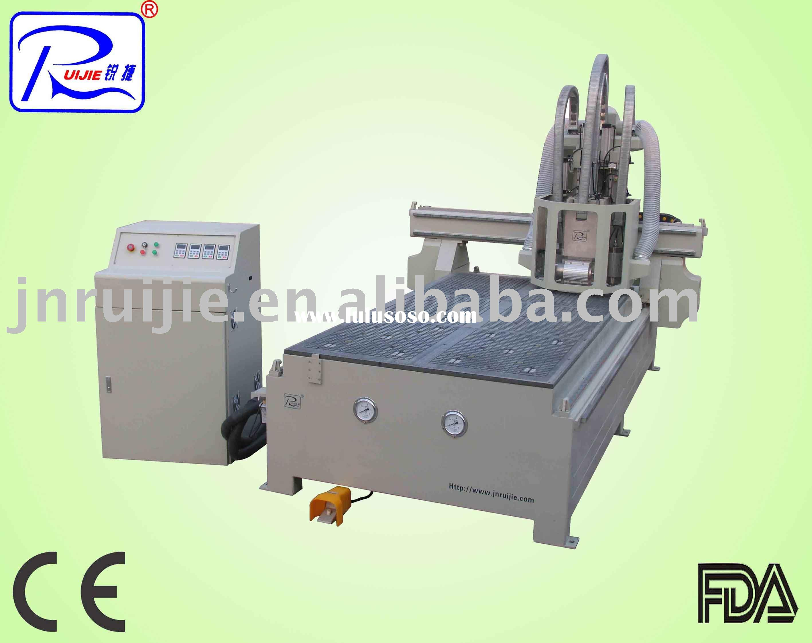 woodworking machinery for wood door making