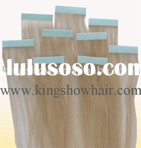 Best quality adhesive tape hair extensions