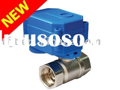 CWX-15Q Mini 2 way electronic valve for automatic control,HAVC,water treatment,water meter