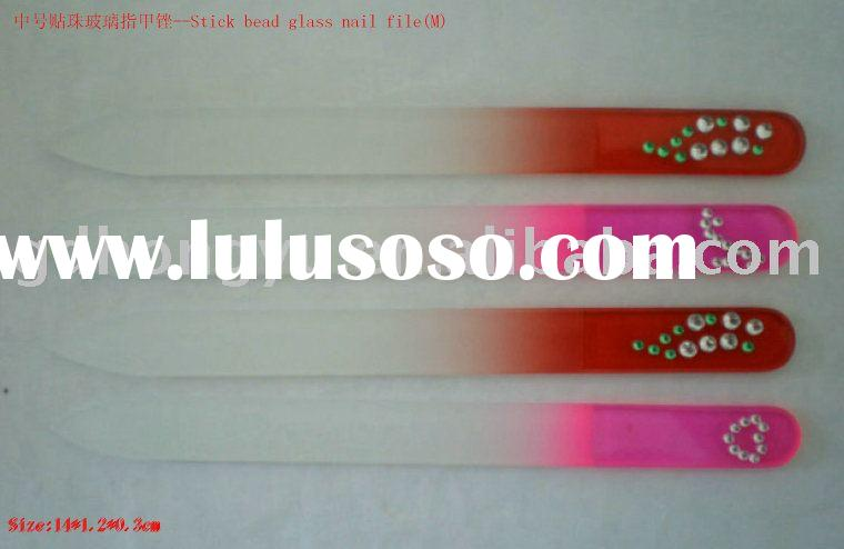 Glass Nail File/Diamond nail file/Crystal nail file/Nail care