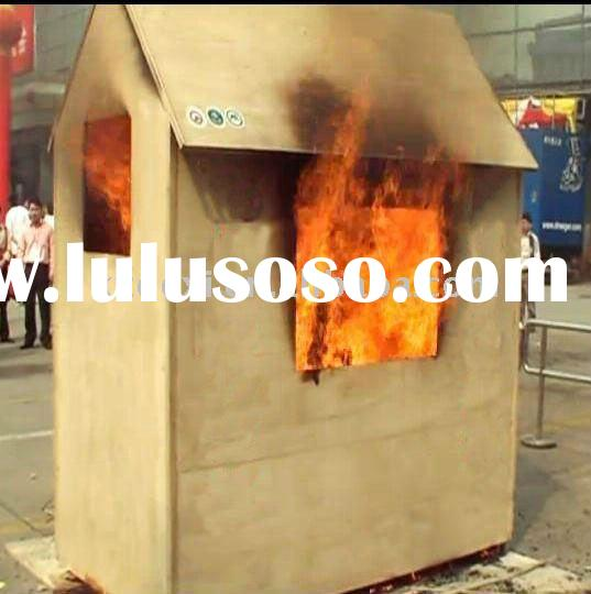 New developedfireproof and waterproof mobile wooden house and mobile wooden building step