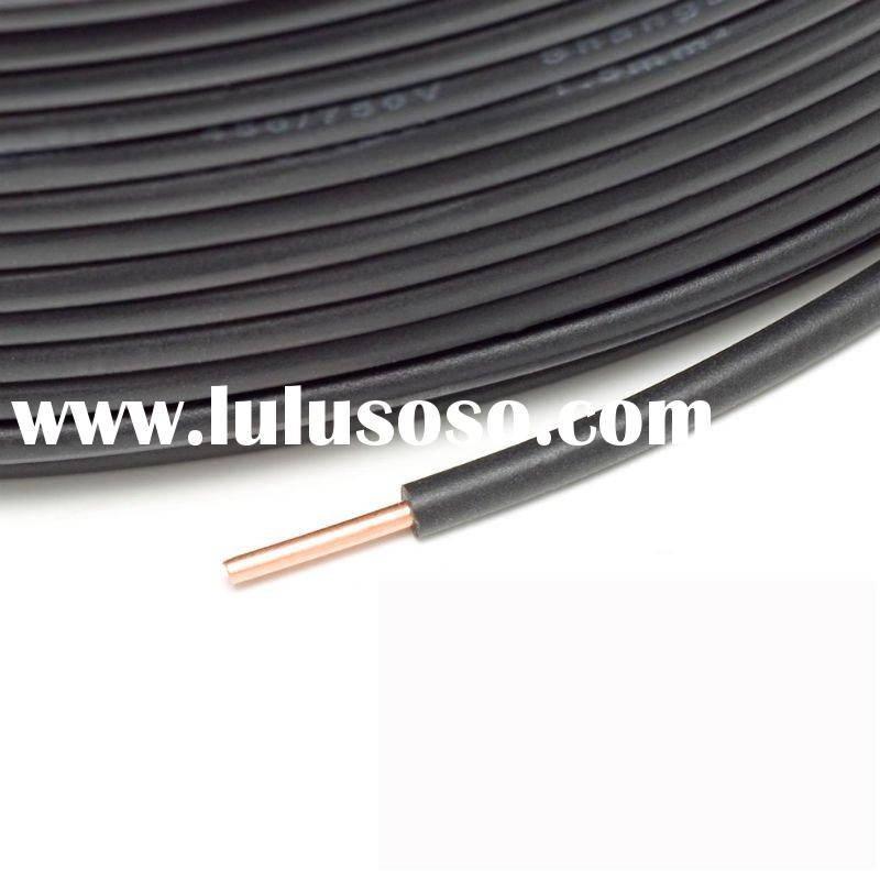 PVC Insulated Single Copper Wire Copper Cable Scrap
