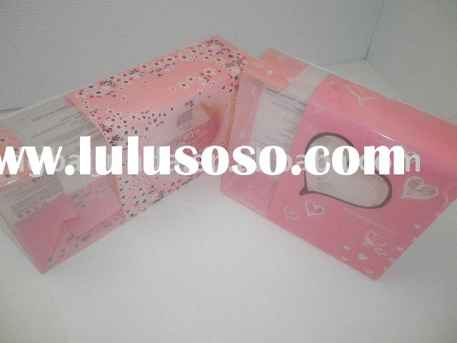 PVC plastic box file