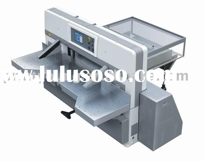 SQZK1150DH Touch screen double hydraulic double guide paper guillotine machine