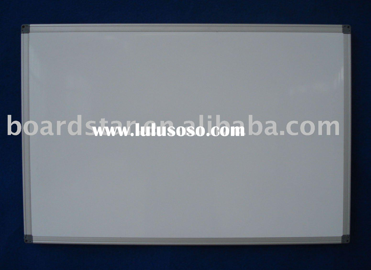 Single Magnetic Porcelain/Ceramic Whiteboard (BSPBG-K)