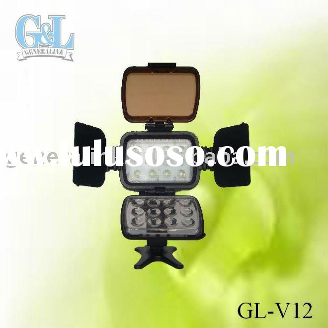 professional Durable LED video lighting GL-V12