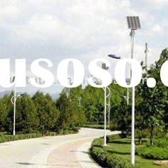 10m 60w DC Outdoor Led Solar Street Lighting System