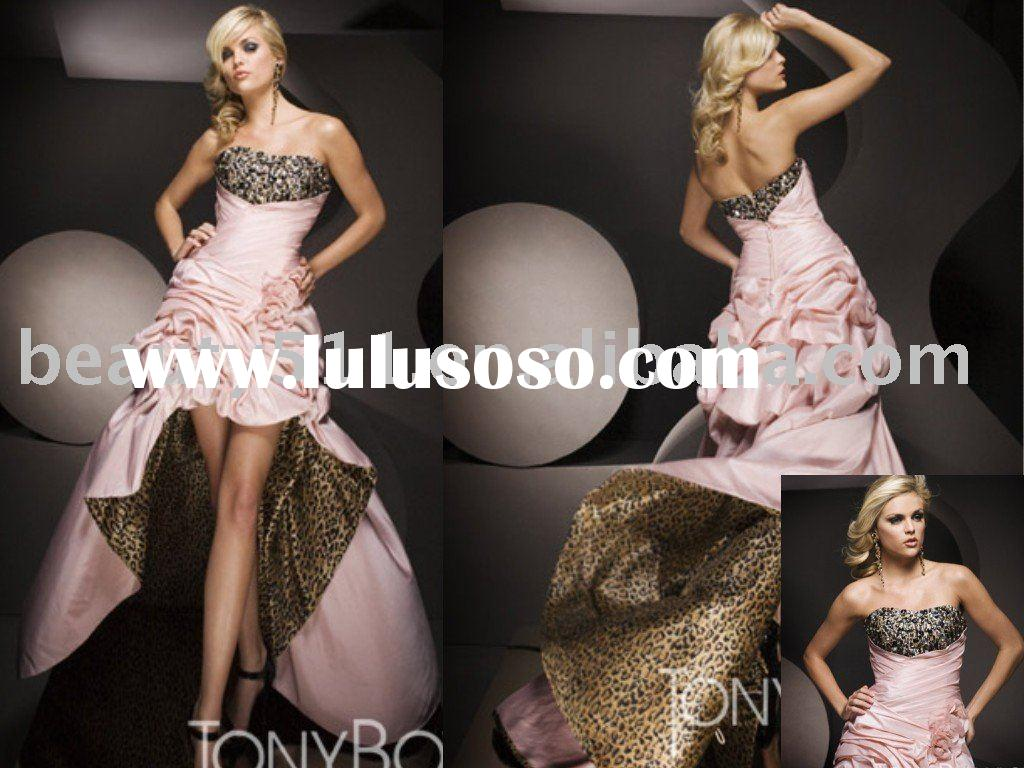 2011 New Fashion  Special Long Tail Party Dress Prom Gown CAC909