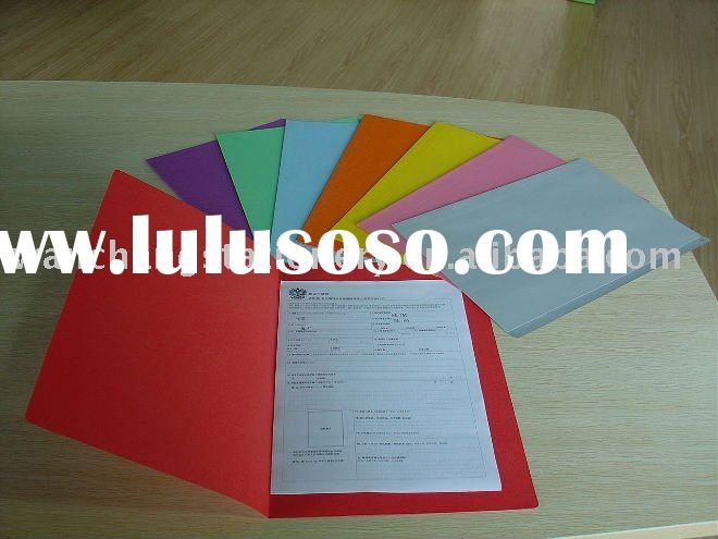 2011 Spring Manilla Paper File Folders Color Assorted