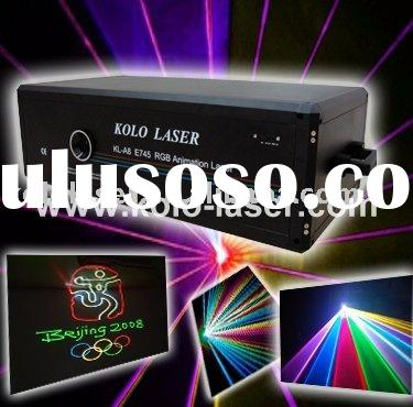 3W RGB multi color laser light, laser show system for DJ Pro, disco, clubs