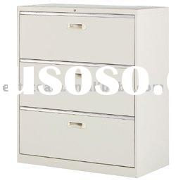 3 Drawers Steel lateral file Pedestal Cabinet