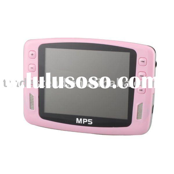 8GB Slim MP4 Player with FM Radio and 3.5-inch 16:9 TFT LCD Screen
