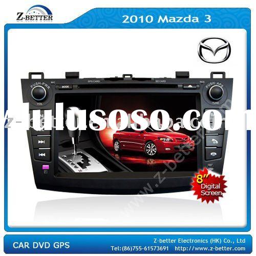 8 inch DVD car audio system for 2010 Mazda 3