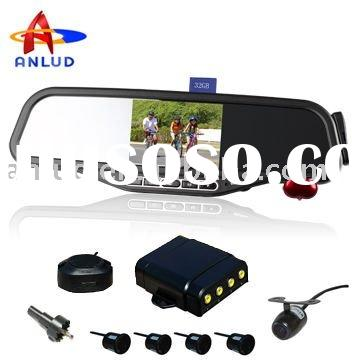 ALD100C led parking sensor system car reverse backup radar