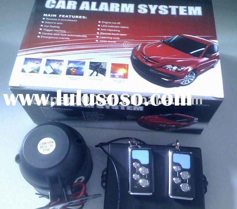 One Way Car Alarm System Auto Accessories Security Alarm