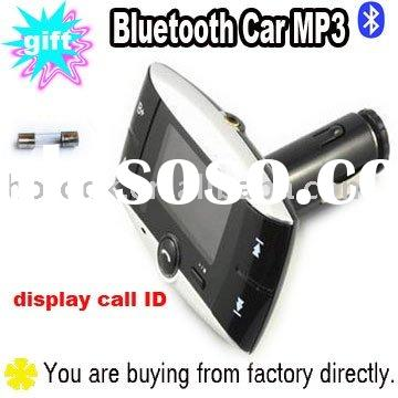 Bluetooth Car MP3 Player FM Transmitter with display call ID