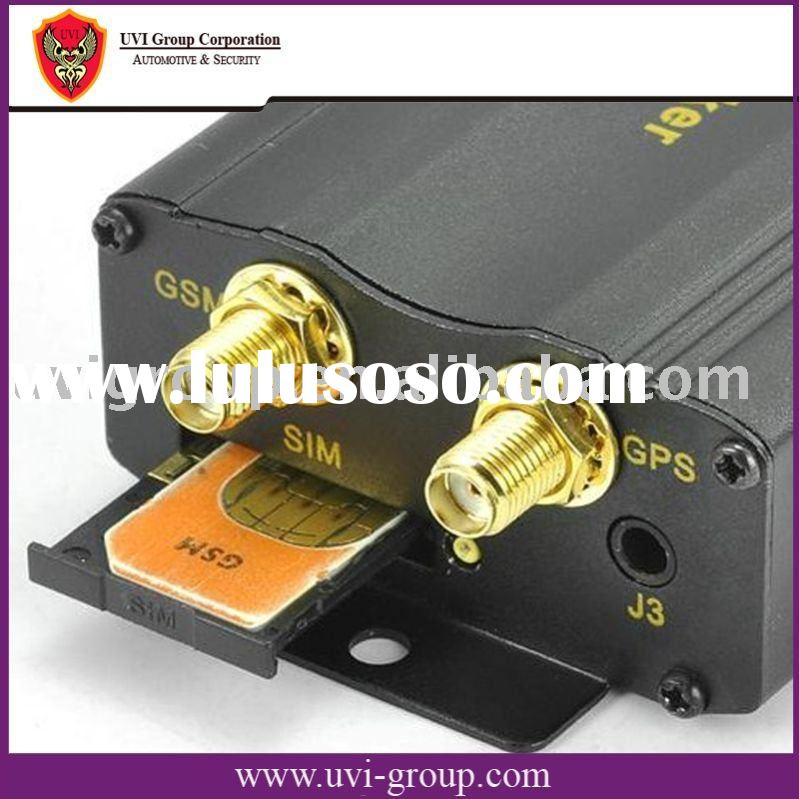Car GPS Tracker with Low Battery and Power Supply Disconnection Alarm Function