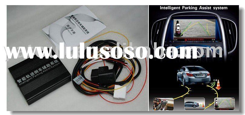 Car Parking Assist System works with screen and auto rear view camera
