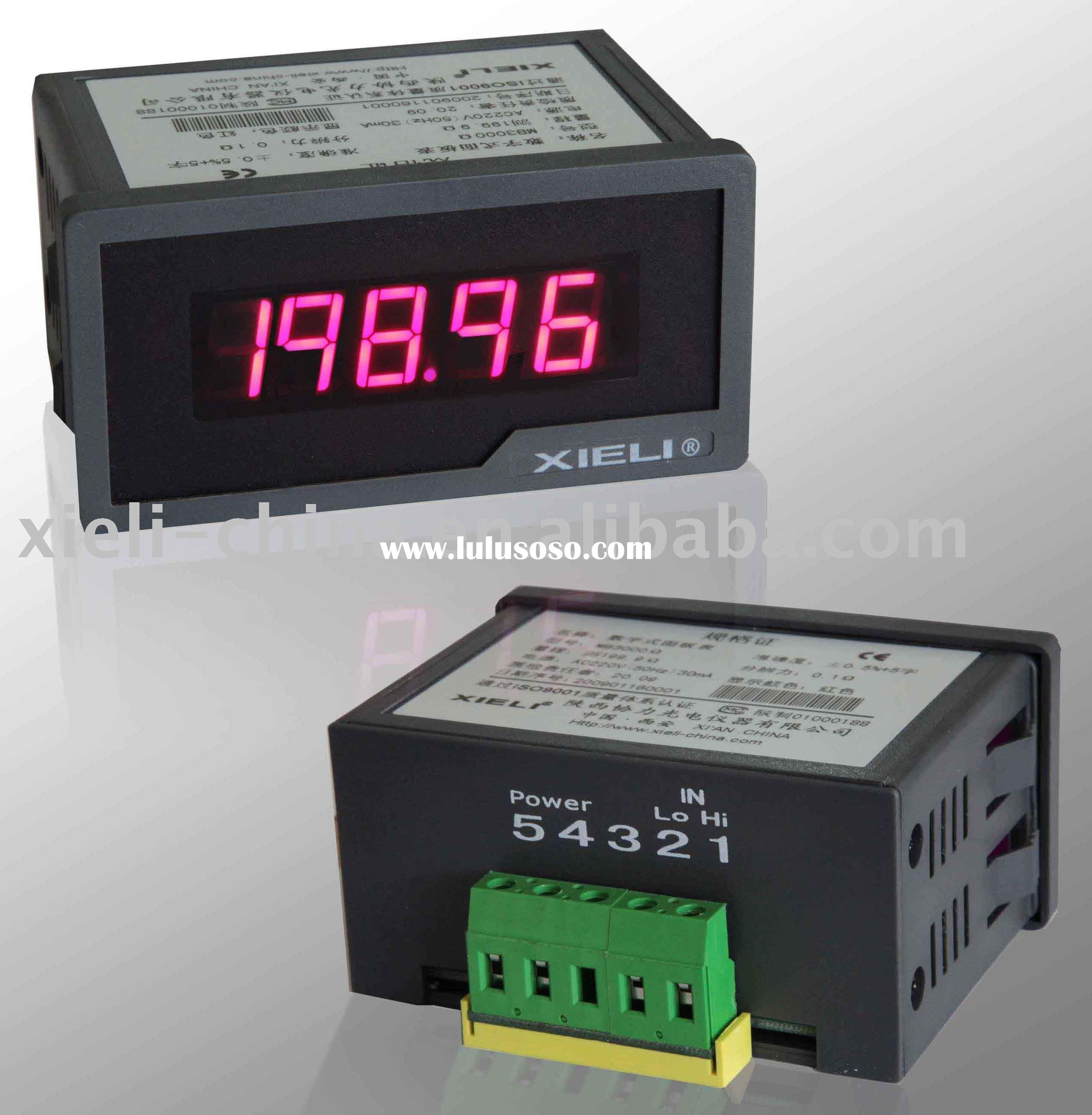 Digital voltage meter AC power supply measuring AC
