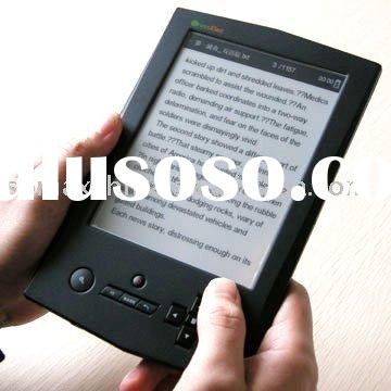 E-book Reader X6, E Ink with 6 Inch Screen, Wifi Function