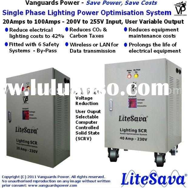 Energy saver for all lighting systems - LiteSava