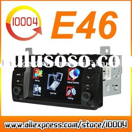 HD Auto DVD GPS For BMW E46 Built-in DVB-T/Parking System/original Temperature Display