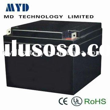 High quality and high capacity lead-acid rechargeable  battery for soler light