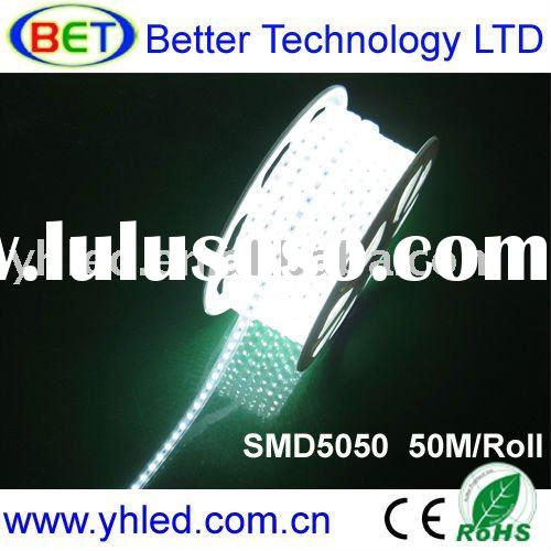 High voltage flexible led strip light (CE & ROHS 50M/Roll, 220-240V)