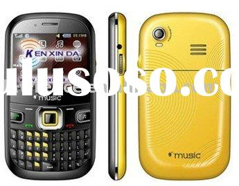 Hot newest Qwerty input mobile phone with shaker& full tracked&flashlight&Java&faceb