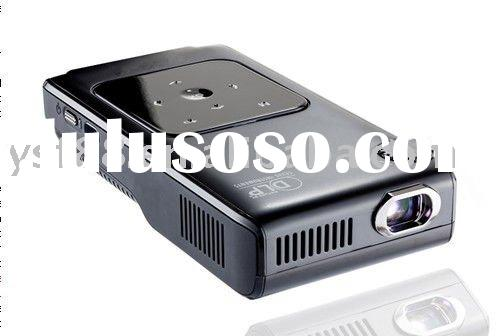 Mini portable RGB LED projector GP096 128MB