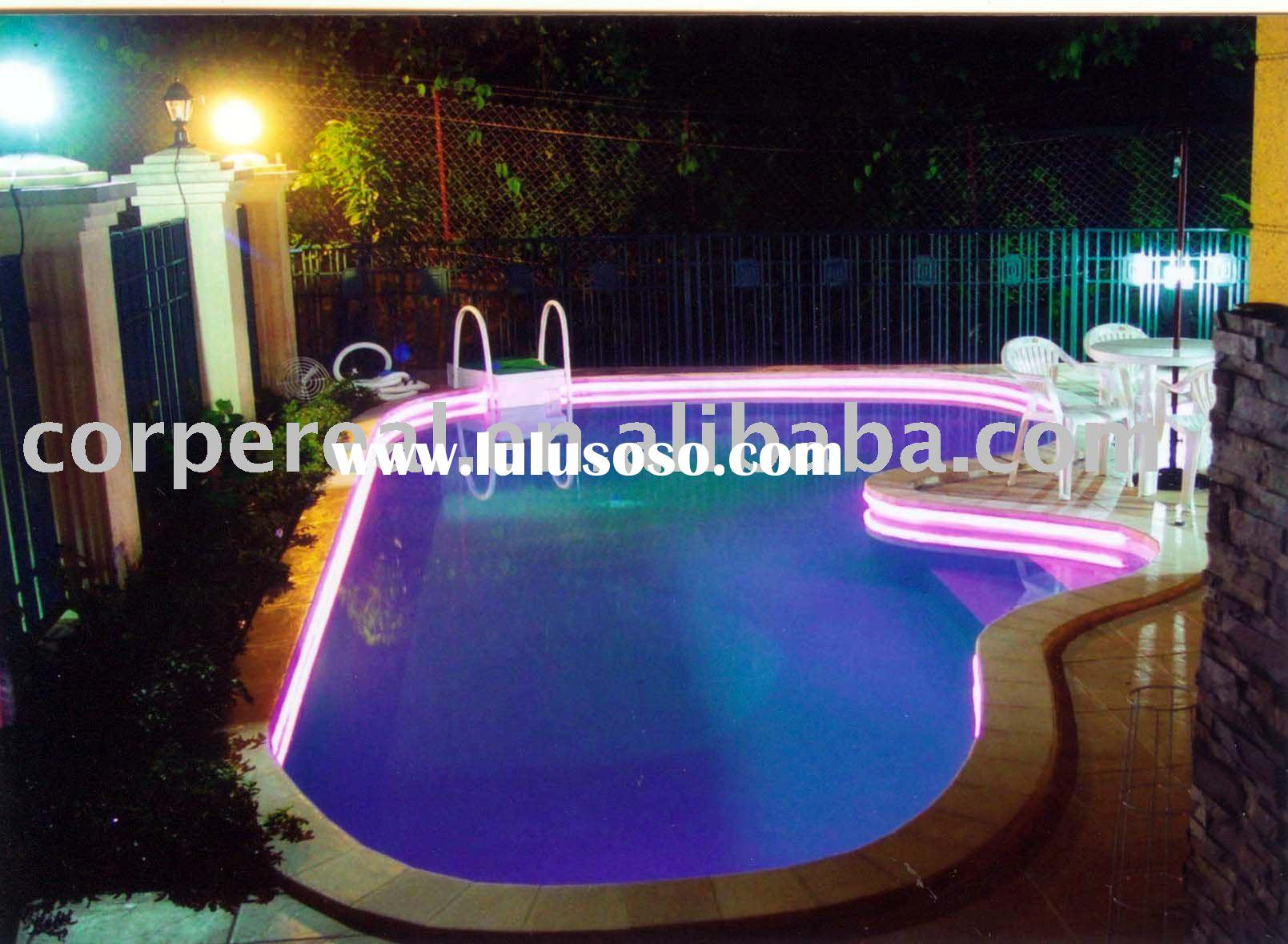 swimming pool sideglow fiber optic lighting systems for. Black Bedroom Furniture Sets. Home Design Ideas
