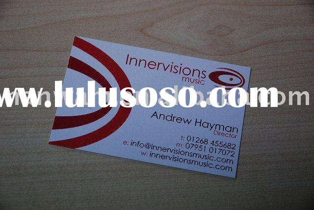 Music Management Business card