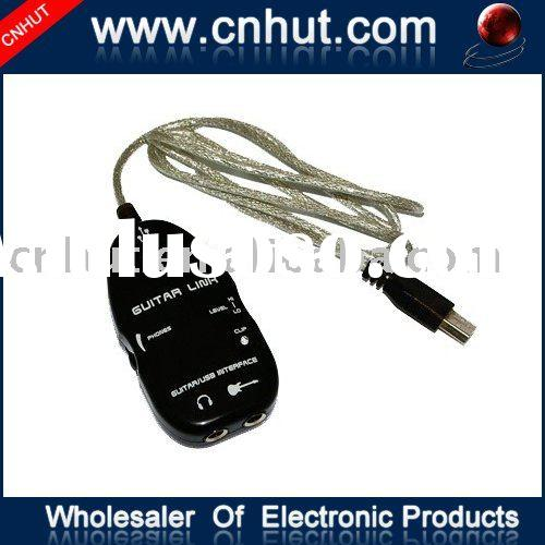 New Guitar to USB Interface Link Cable PC Recording USB
