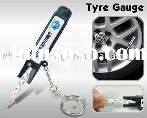 New special 2 in 1 tyre pressure gauge