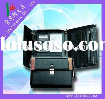PU leather manager folder
