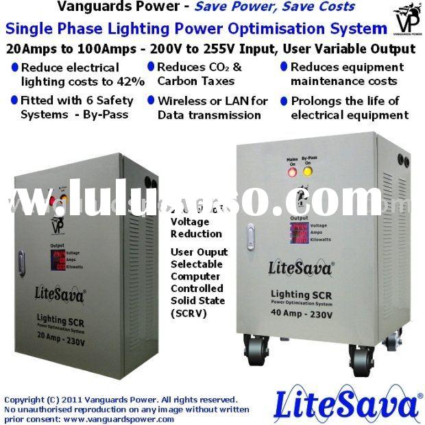 Power saver for all lighting systems - LiteSava