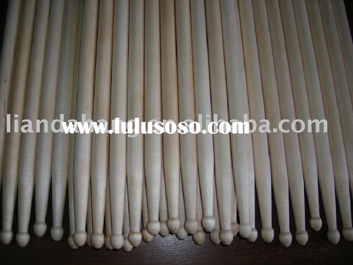 Specialize in producing sundry wooden drumsticks, drumstick and wooden rock beat sticks