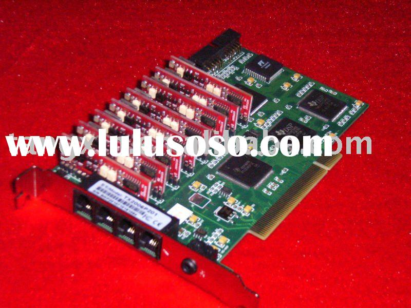 Tansonic TX2006P201-8ch PCI Phone Audio Recording Card