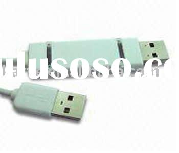 USB 2.0 PC Link Cable with PC to MAC Automatic Setup, Remote Share, and LED Indicator
