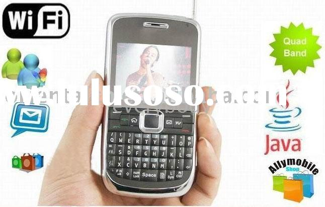 Unlocked  K8900 Dual Sim Dual Camera Quad Band TV Function QWERTY Keypad mobile Phone Black+2g tf ca