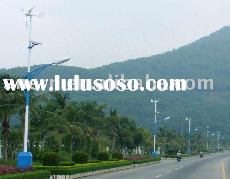 Wind-Solar Hybrid Street Lighting System