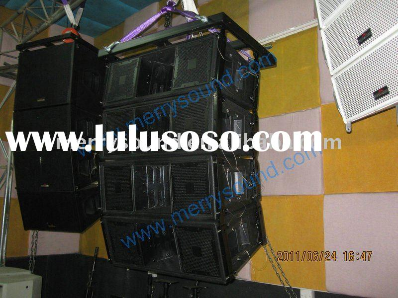 audio system, PA speaker, pa audio, JBL VERTEC series (VT4887)