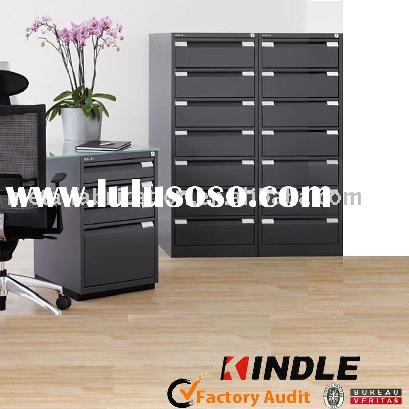 black metal filing cabinet for office