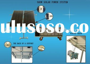 on/off grid solar system for home use