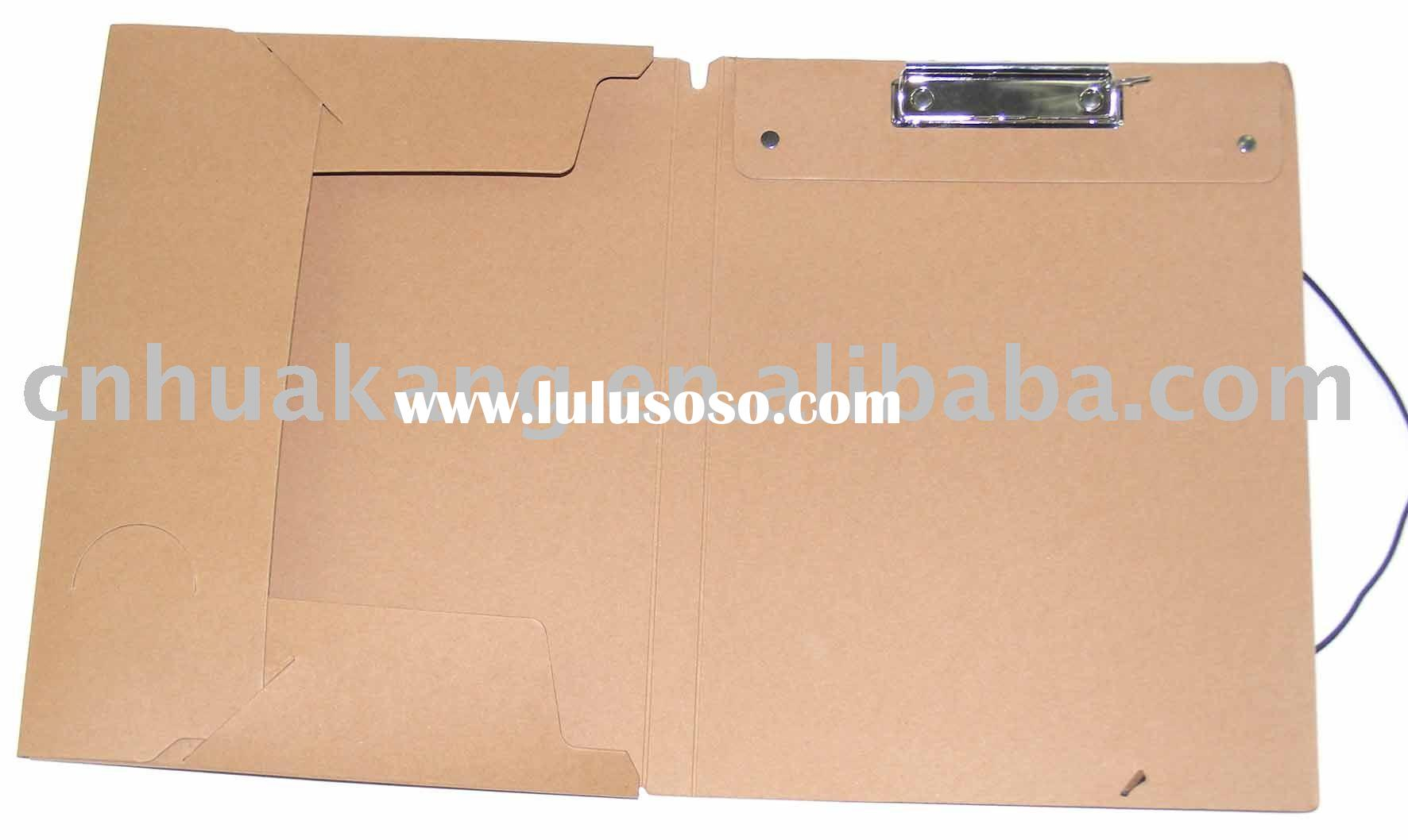 recycle paper file folder