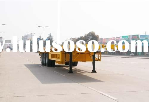 10-18M  flat bed semitrailer for  equipment transportation