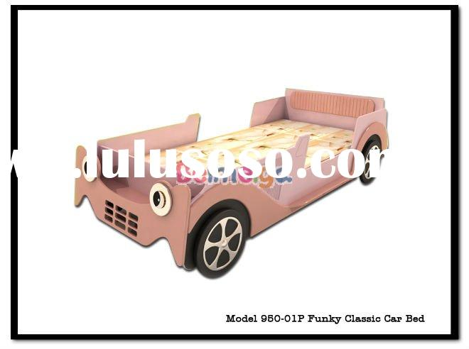 beimika pink color funky classic kids car bed 950 01p