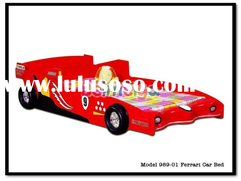 Beautiful Red Color Racing Car Bed 989-01